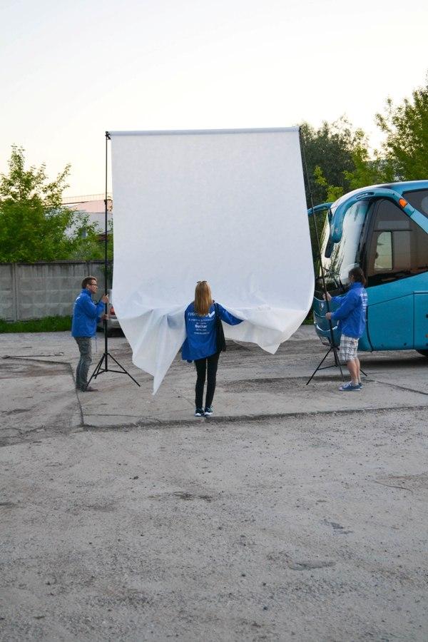 Готовим первый автобус к фотосъемке